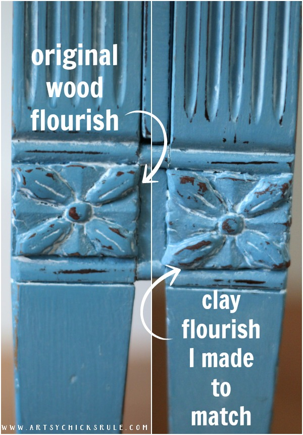 Make your own!! It's SO easy!! Giverny Chalk Paint Chest Makeover with White Wax - artsychicksrule.com #giverny #chalkpaint #chalkpaintfurniture #furnituremakeover