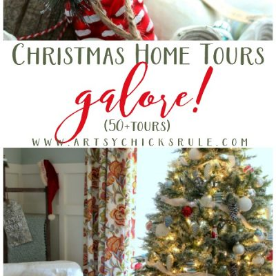 Christmas Home Tours Galore Part 2