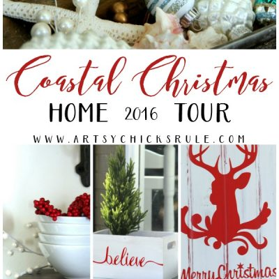 Coastal Christmas Home Tour Part 3