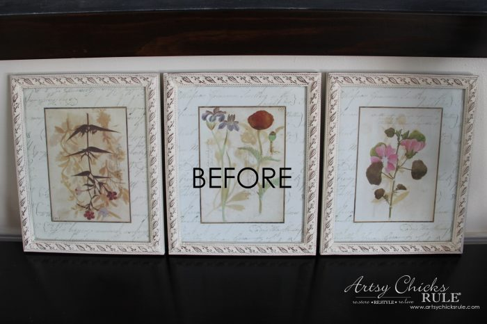 Old Prints Repurposed into Coastal Wall Decor - artsychicksrule.com