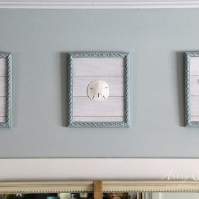 Old Prints Repurposed Into Coastal Wall Decor
