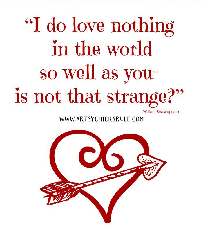 Valentine's Day Printable Valentine's Ideas artsychicksrule