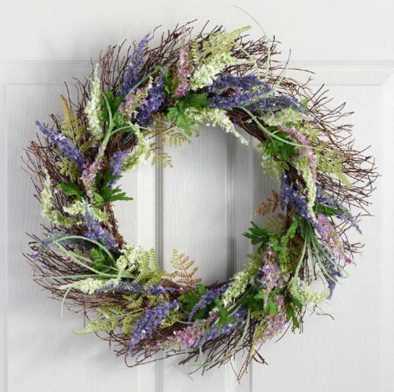 20+ Spring Wreath ideas - artsychicksrule.com