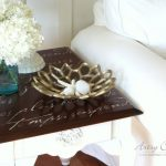 $5 Thrifty French Script Table