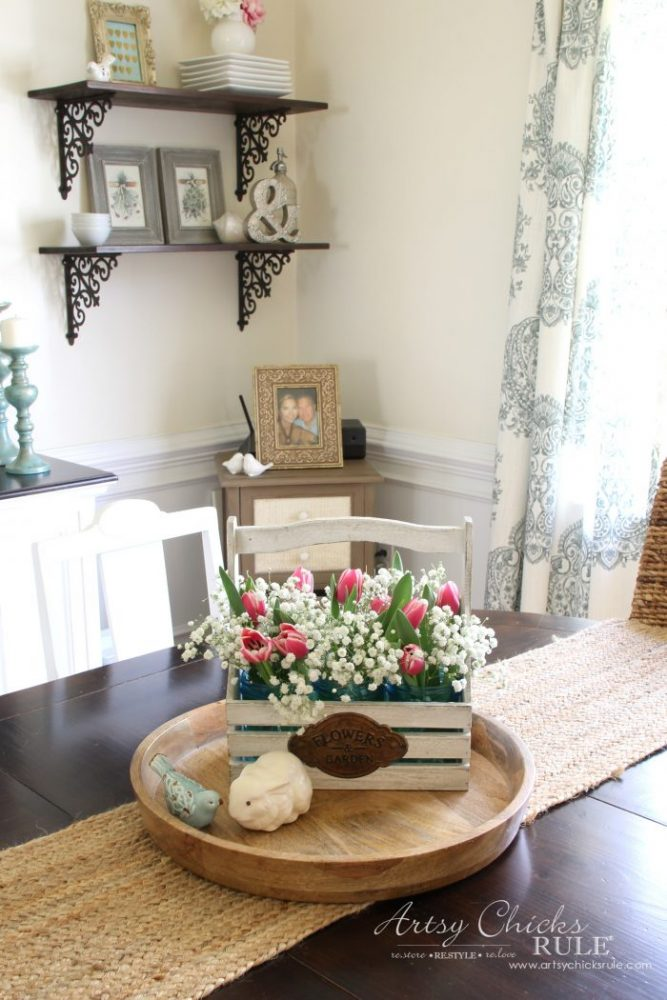 Bring Spring Inside!! Easy To Do, Ideas Here!! Artsychicksrule.com
