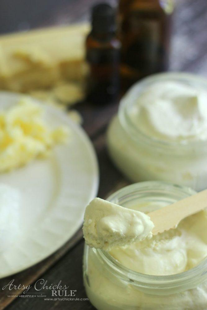 Easy Whipped Body Butter Recipe - artsychicksrule.com