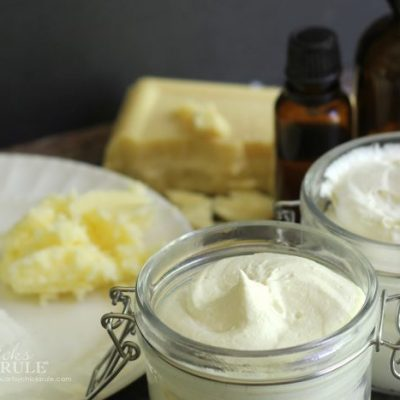 Easy Whipped Body Butter Recipe