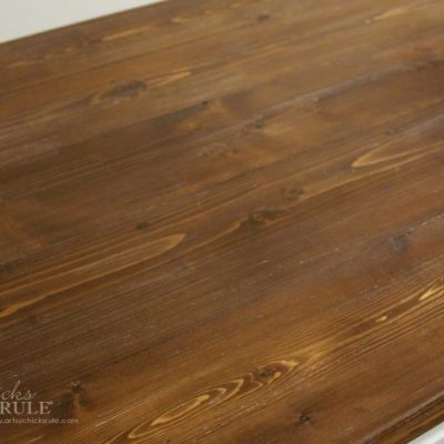 How To Make A DIY Wood Countertop (easier than you thought!)