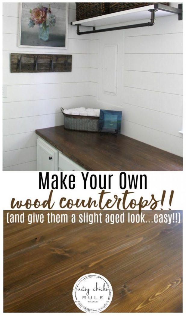 How To Make A Diy Wood Countertop Easier Than You Thought Artsy