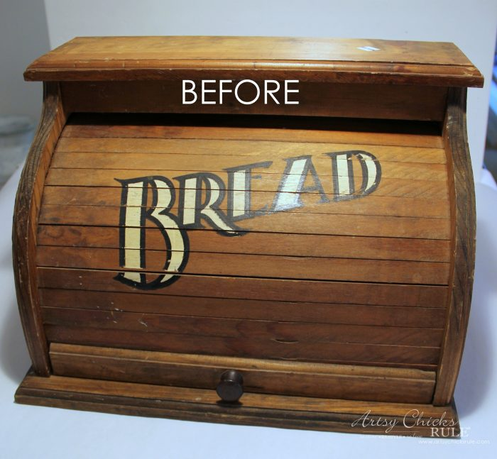 French Farmhouse Bread Box (no bread in this box!)