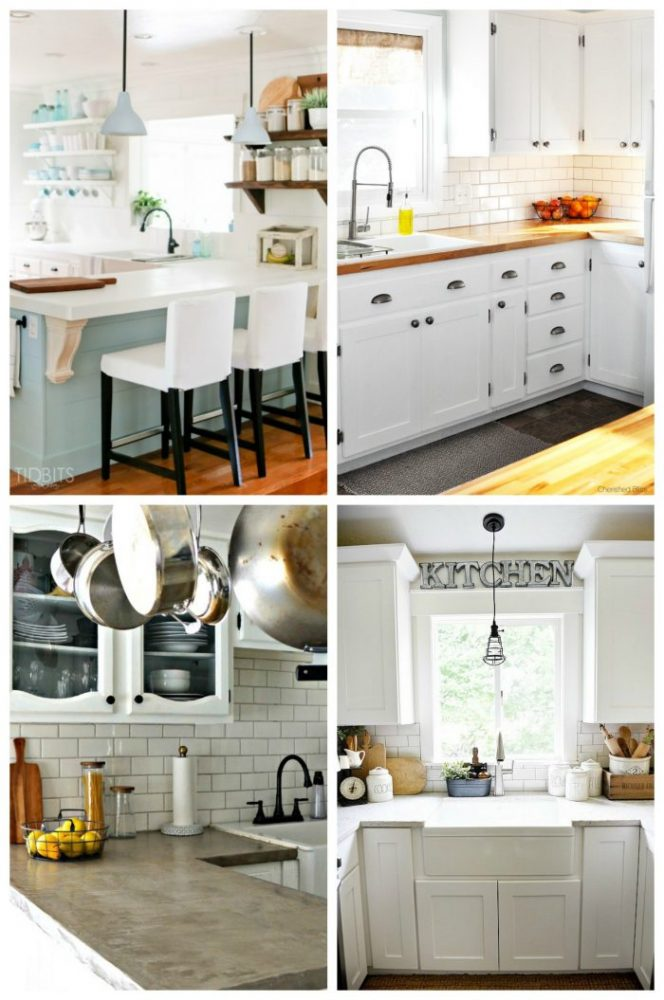 Kitchen Makeovers Big & Small! artsychicksrule.com