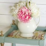Thrifty Makeover with French Fabric Decoupage