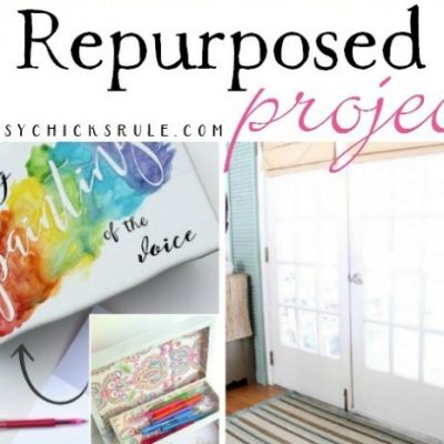 24 Repurposed Projects (anyone can do!)