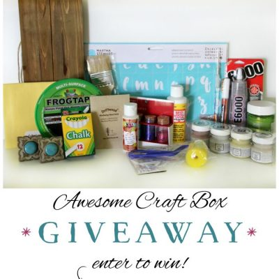 Craft Box Giveaway!! (lots of fun supplies!)