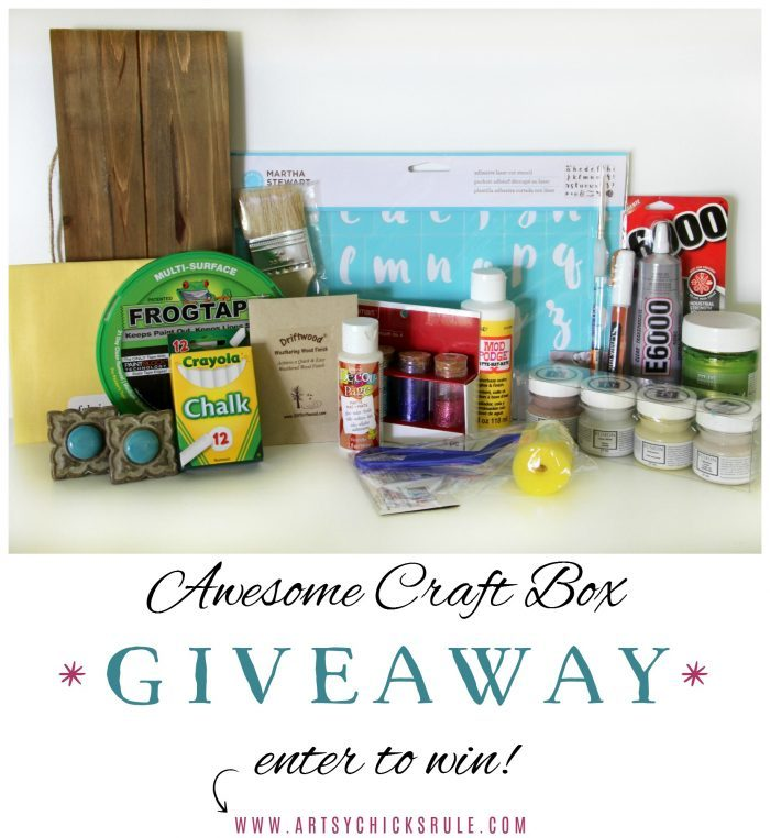 Awesome Craft Box Giveaway!! Enter to WIN!! artsychicksrule.com