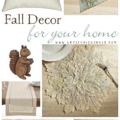 Pretty Fall Decor For Your Home