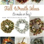 Fall Wreath Ideas (to buy or make)