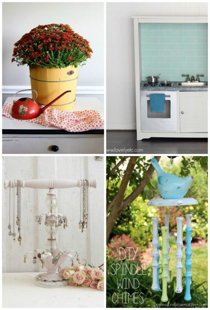 24 Repurposed Projects - artsychicksrule.com