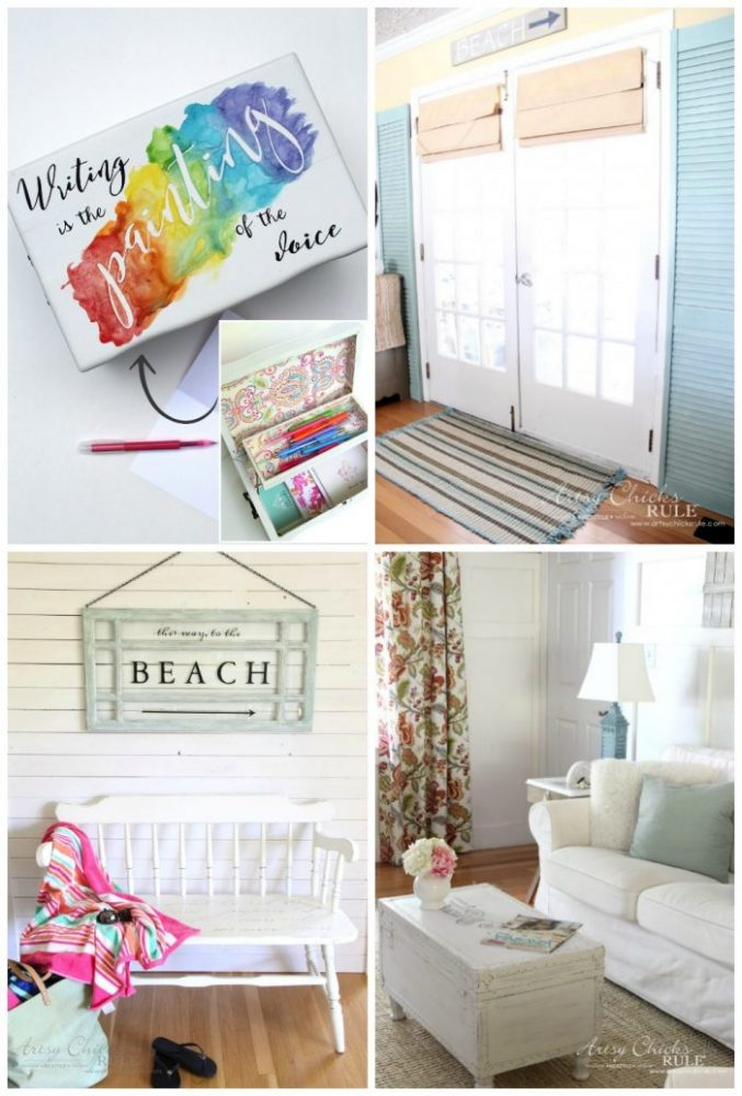 24 Repurposed Projects - artsychicksrule.com #repurposedprojects