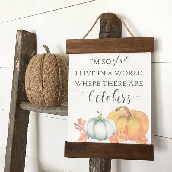 Pretty Fall Decor For Your Home artsychicksrule.com