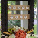 Rustic Fall Framed Wreath