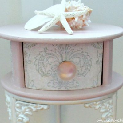 Antoinette Chalk Paint with Decoupage