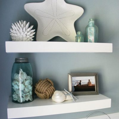 DIY Floating Shelves Tutorial (easier than you think!)