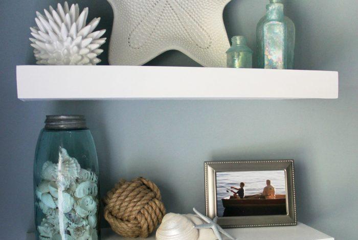 DIY Floating Shelves Tutorial