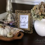 Fall In The Foyer (and a simple fall craft!)