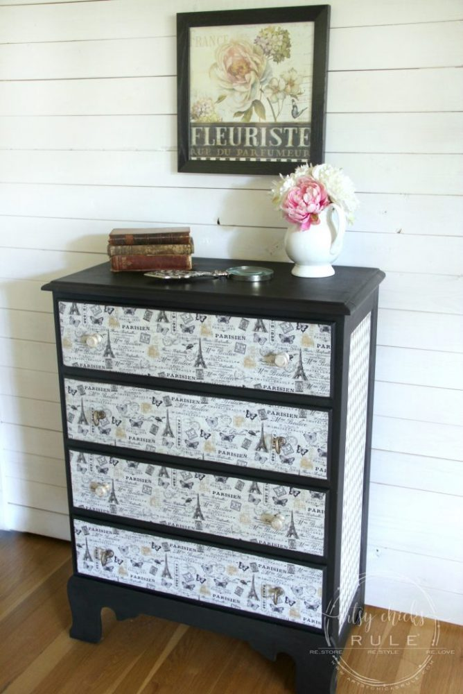French Fabric Decoupage Tutorial Full How To Artsy Chicks Rule