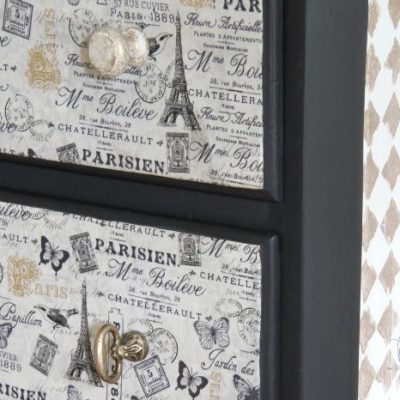 French Fabric Decoupage Tutorial
