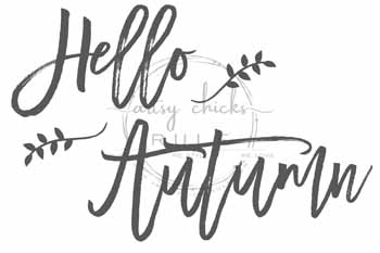 Hello Autumn - artsychicksrule #freeprintables #fallpillow #fallsayings