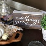 In All Things Give Thanks Sign & Free Printable