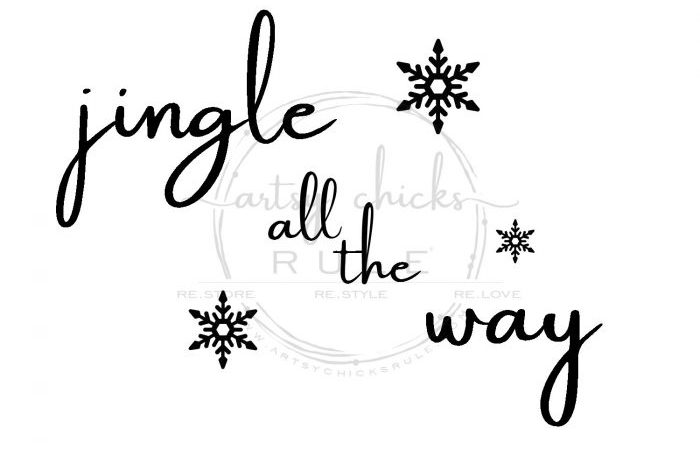 Thrifty Jingle All The Way Sign