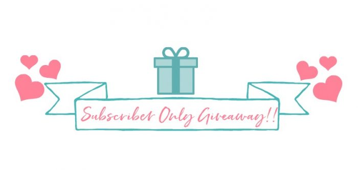 Protected: Subscriber Only Giveaway!!
