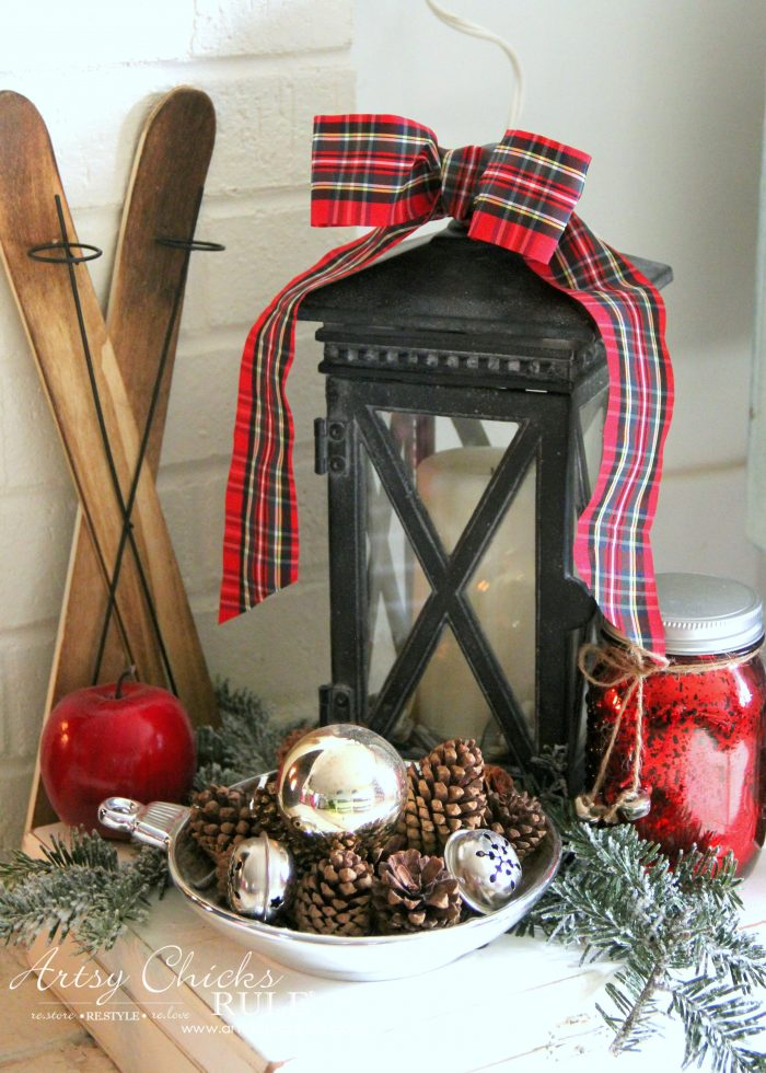 Christmases Past artsychicksrule.com #Christmaspast #Christmasdecor #DIYChristmas Christmasdecorideas