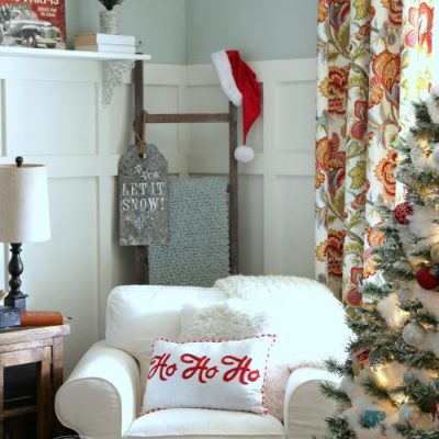 Festive Christmas Family Room 2017 (part 3)