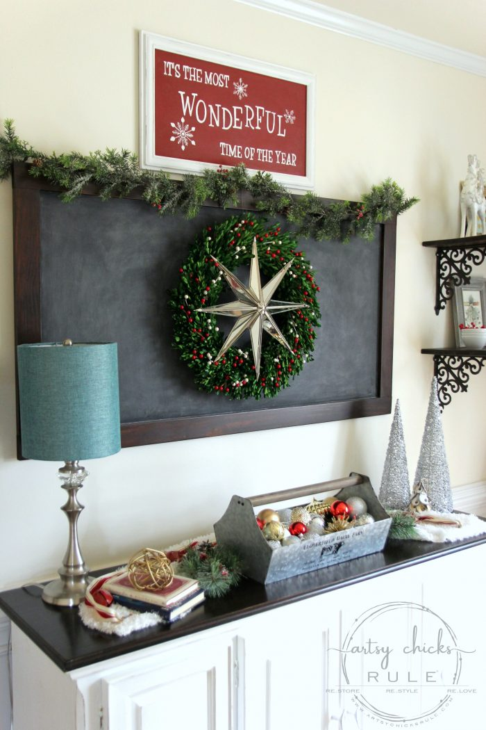Festive Christmas Home Tour Part 2 #traditionalChristmas #Christmasdecor #Christmashometour #redChristmas #diyChristmas