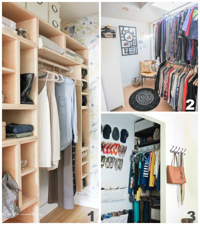 Master Closet Makeover Ideas & Inspiration! Tons of tips on organizing, storage solutions & more! artsychicksrule.com #masterclosetmakeover #masterclosetideas #masterclosetinspiration #mastercloset
