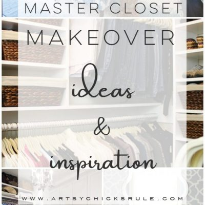 Master Closet Makeover Ideas & Inspiration (From Small to Large!)