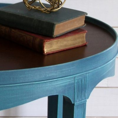 Layered Chalk Paint Makeover