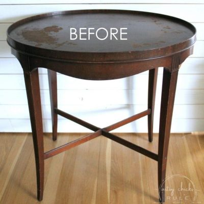 Layered Chalk Paint Makeover (the simple how-to!)