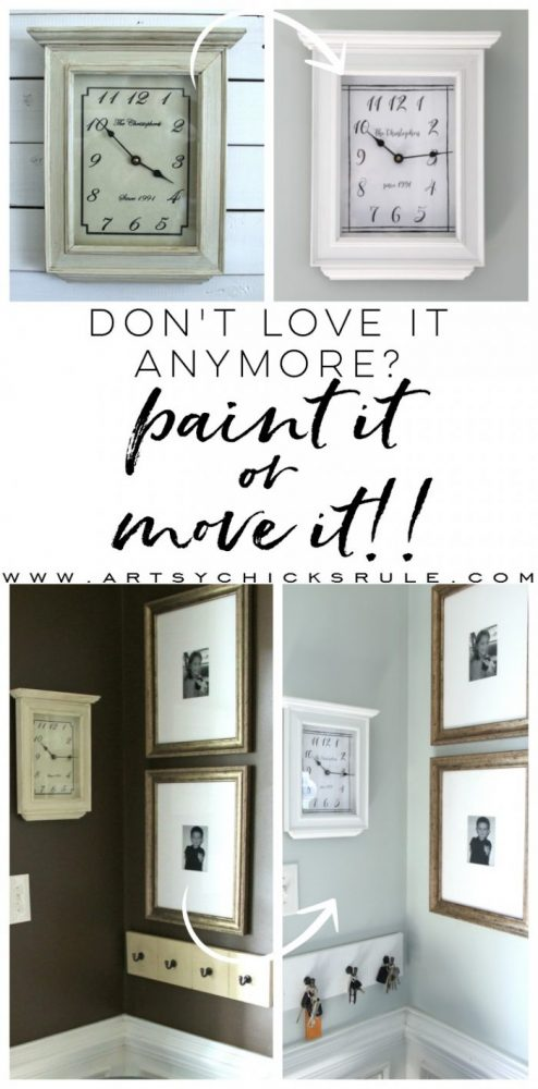 Don't Love It Anymore!! No Longer Matches Your Decor? (don't throw it out, paint it!) artsychicksrule.com #thriftymakeover #shopyourhome #paintedfinds #paintmakeover #paintcolors