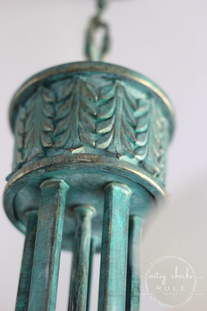 How To Create Faux Verdigris So Simple Artsy Chicks Rule 174