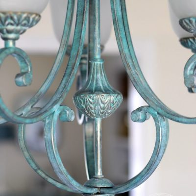 How To Create Faux Verdigris (so simple!)