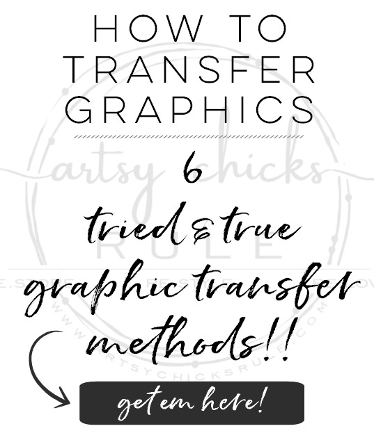 How To Transfer Graphics (transfer methods for signs