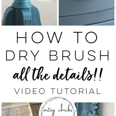 How To Dry Brush (plus 12 projects!)