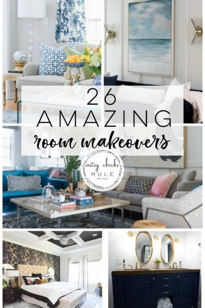 26 DIY Room Makeovers – Before and After