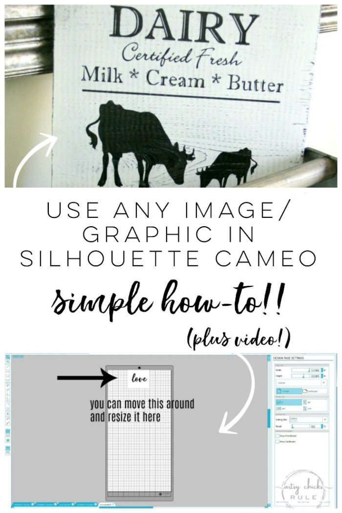 How To Import Your Own Designs Into Silhouette Cameo So