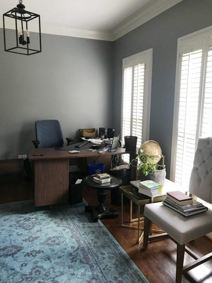 DIY Room Makeovers - The ORC - artsychicksrule.com #diyroommakeovers #diyhome #diyrooms #diyblogger #doityourself #roombeforeandafters #beforeandafter